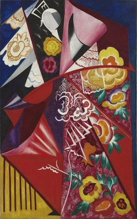 Испанка.(1916). <br>Christie's, 2010 - $10,7 млн. Автор: Наталья Гончарова.