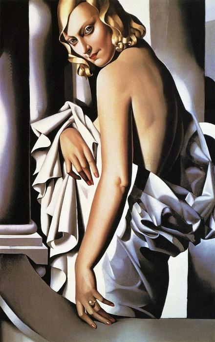 «Портрет Марджори Ферри» ($4,9 млн). (1932). Автор: Тамара де Лемпицка.