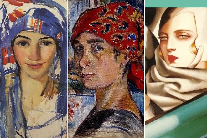 Автопортреты русских художниц 20 века, картины которых продаются за миллионы. Зинаида Серебрякова, Наталья Гончарова, Тамара де Лемпицка.