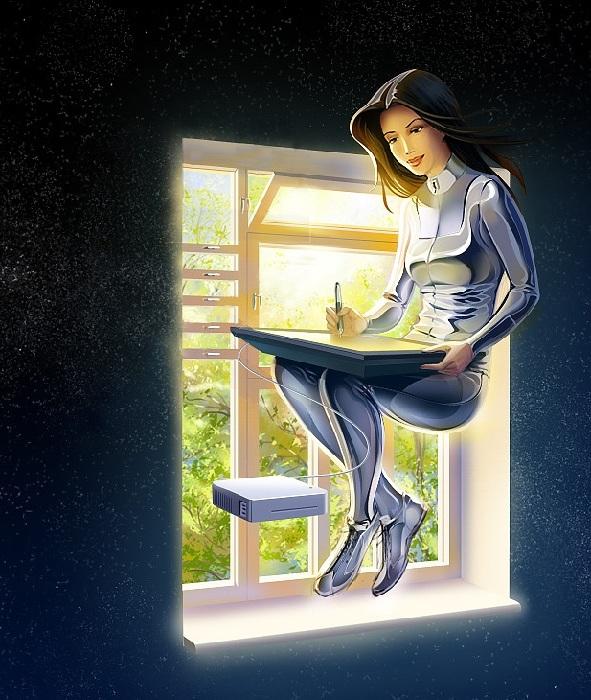 Женские образы от Сергея Банитюка.