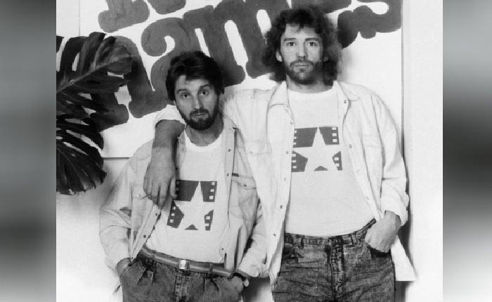 Актёры Леонид Ярмольник и Александр Абдулов. Фото 1989 года