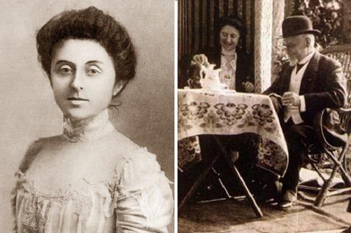 Генрик Сенкевич и его третья жена Мария Бабская.