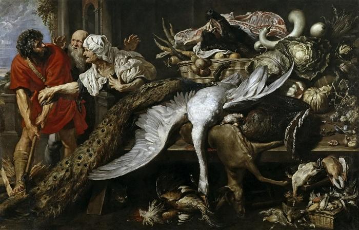 «Узнавание Филопомена». (совместно с Паулем Питером Рубенсом). (1609-1610). (Мадрид, Прадо). Автор: Франс Снейдерс.