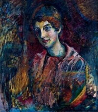 Нина Андреевская. Автор: В.В. Кандинский.