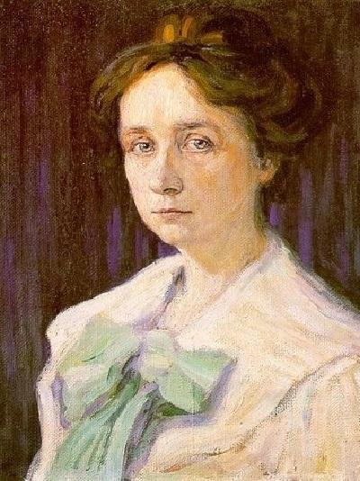 Габриэль Мюнтер.(1905). Автопортрет.