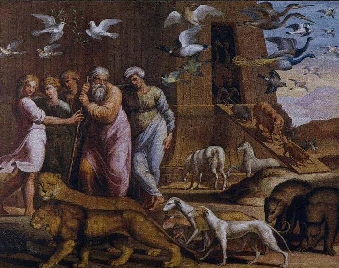 «Истории Ноя». Выход из ковчега.
