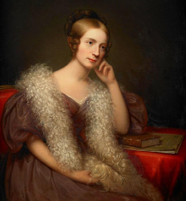 Каролина Луиза Барлетт, 1836 год. Автор: Рембрандт Пил.