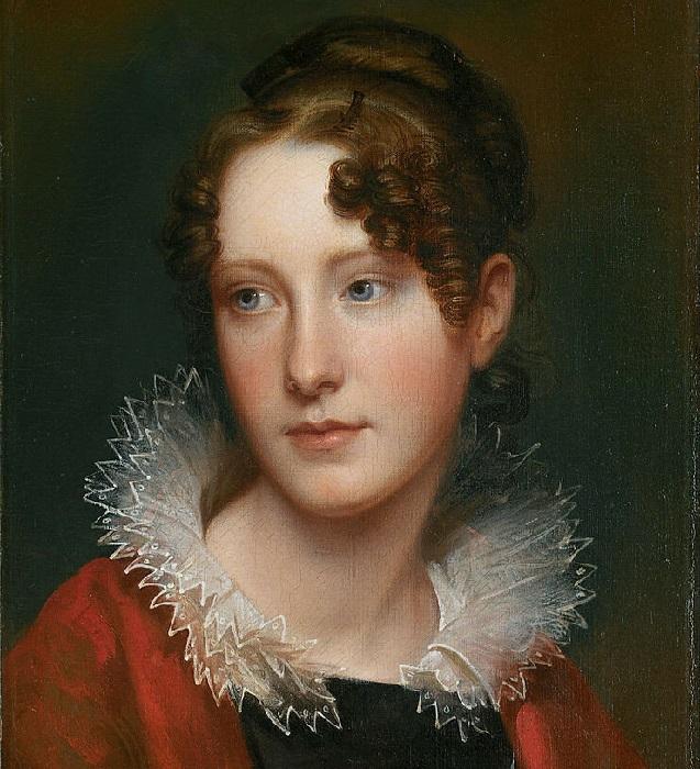 Розальба Пил, дочь художника, ок. 1820<br>год. Автор: Рембрандт Пил.