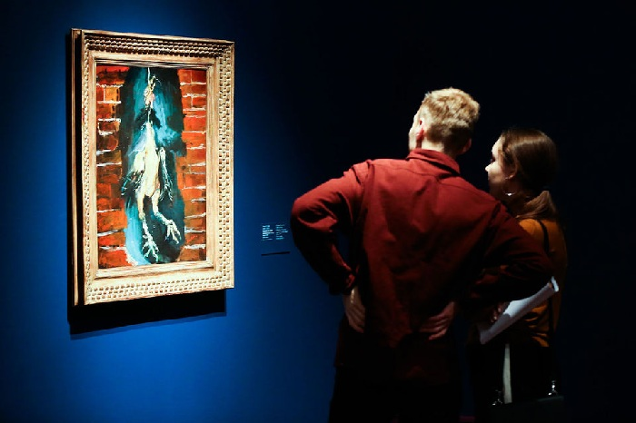 На выставке в Пушкинском музее