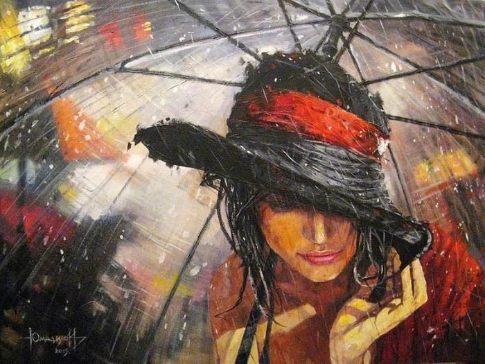 Как зонт, символ власти и величия, стал аксессуаром, спасающим от дождя.