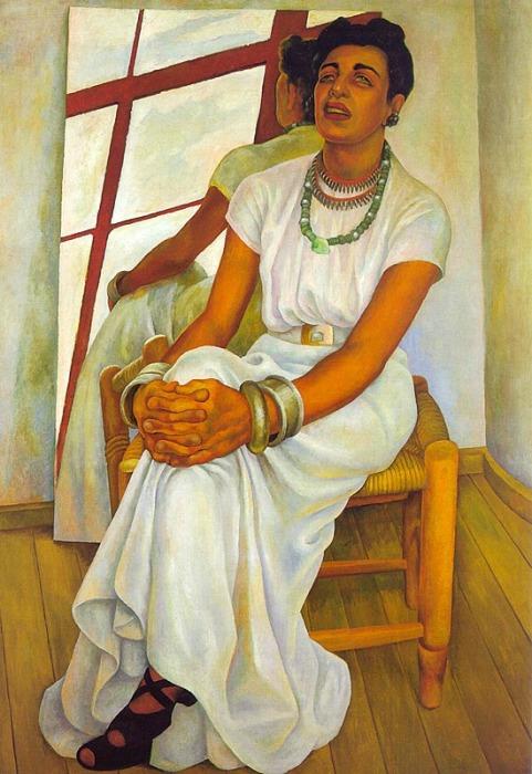 Гуадалупе Марин. (1938). Автор: Диего Ривера.