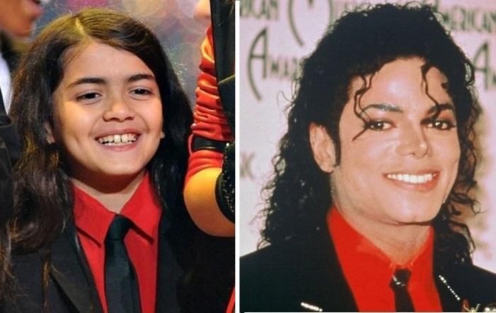 Принс Майкл Джексона II/Бланкет/ и Майкл Джексон.
