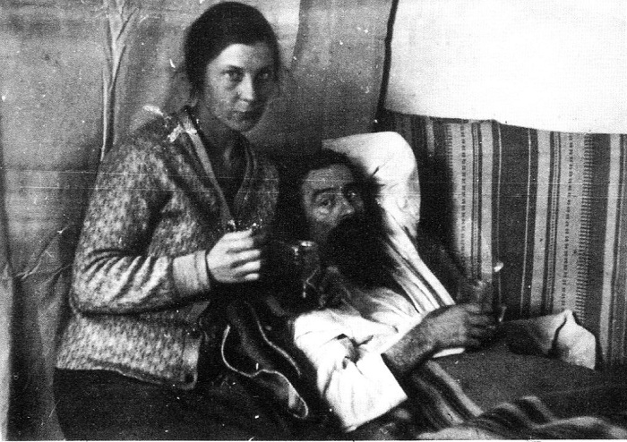Казимир Малевич во время болезни.1935 год.