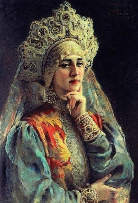 МаковскийК.Е.Княгиня под венец.