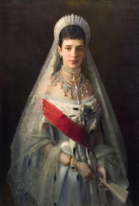 Мария Федоровна. Автор: Иван Крамской