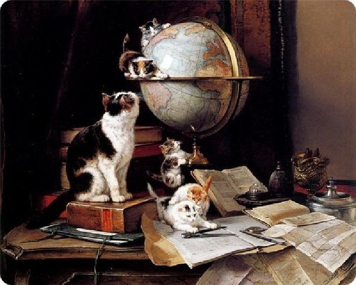 «Путешественники по миру». Автор: Генриетта Роннер-Книп.