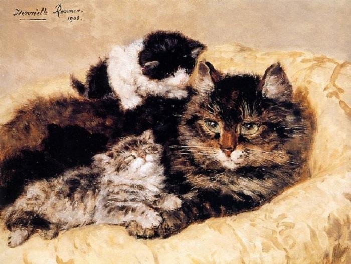 «Счастливое материнство». Автор: Генриетта Роннер-Книп.