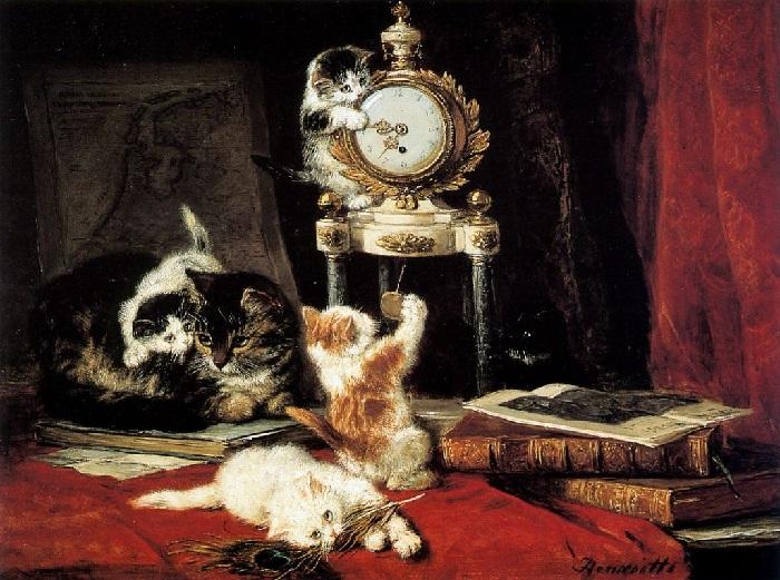 «Точное время». Автор: Генриетта Роннер-Книп.