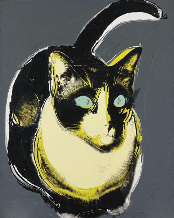 «Коты и собаки (Бродвей)». Автор: Энди Уорхол.