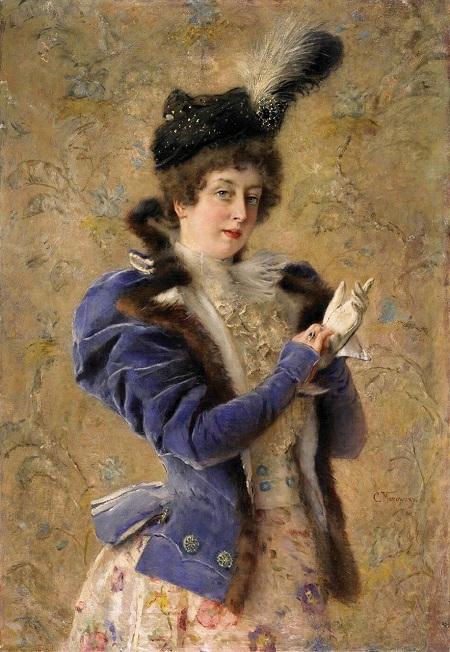 Портрет Марии  Маковской (Матавтиной). Автор: Константин Маковский.