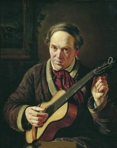 «Портрет Е.И.Маковского, отца художника». (1856). Автор: К.Е.Маковский.