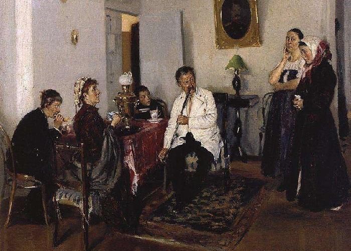 «Наем прислуги». (1891).
