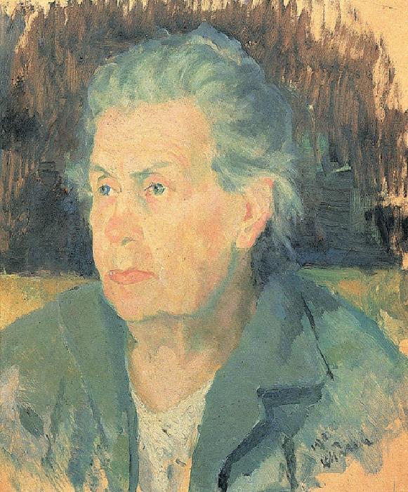 Портрет матери. Около 1932. Государственный Русский музей.