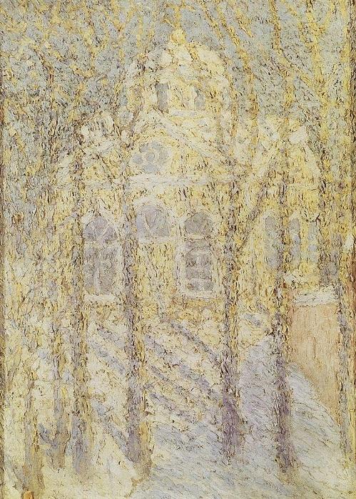 Церковь. (1905). Частная коллекция. Автор: Казимир Малевич
