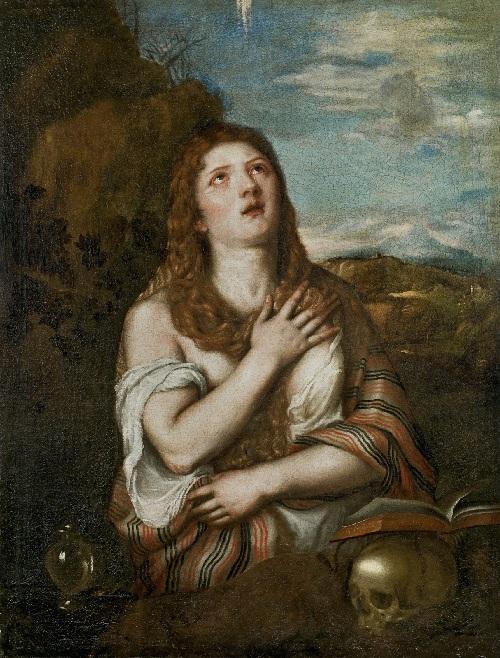 «Кающаяся Мария Магдалина».Частная коллекция.  Автор: Тициан Вечеллио.