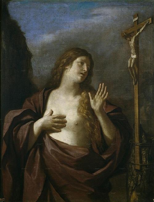 «Кающаяся Мария Магдалина». Автор: Гверчино .