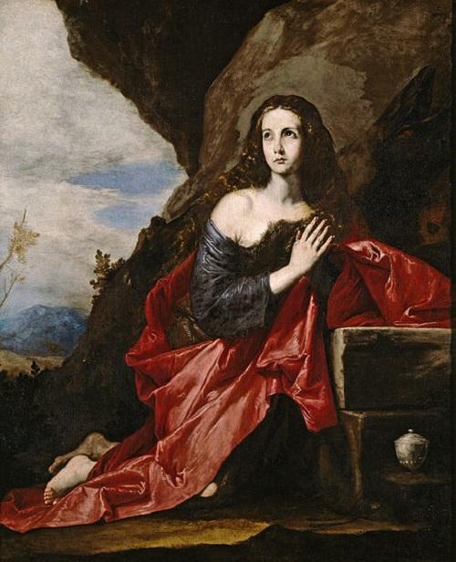Maria Magdalena. (1641). Автор: Josе de Ribera.