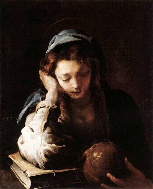 «Мария Магдалина».(1621). Автор: Доменико Фетти.