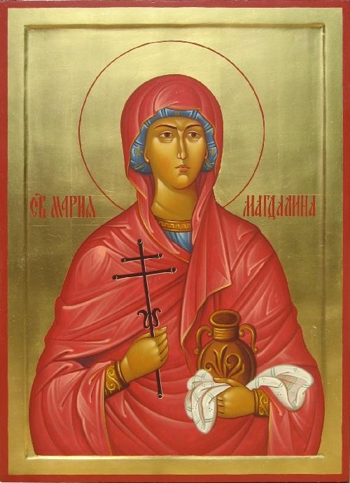 Православная икона Марии Магдалины.