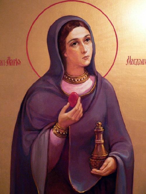 Православная иконография Марии Магдалины.