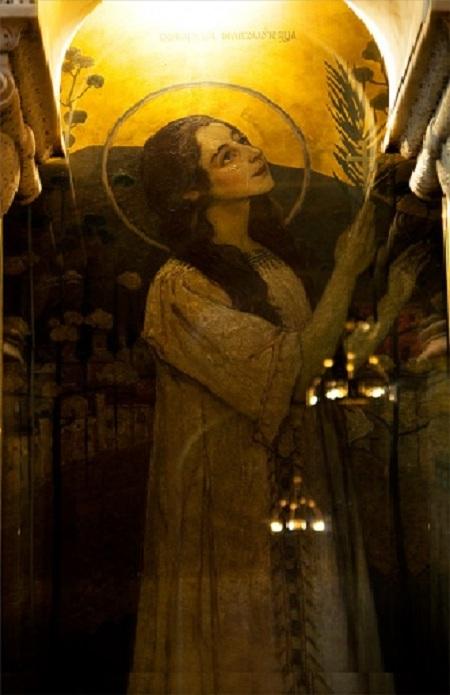 Варвара Великомученица. Владимирский собор. Киев. Автор: Михаил Нестеров.