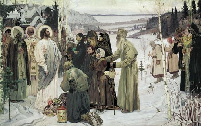 Святая Русь . Автор: Михаил Нестеров.