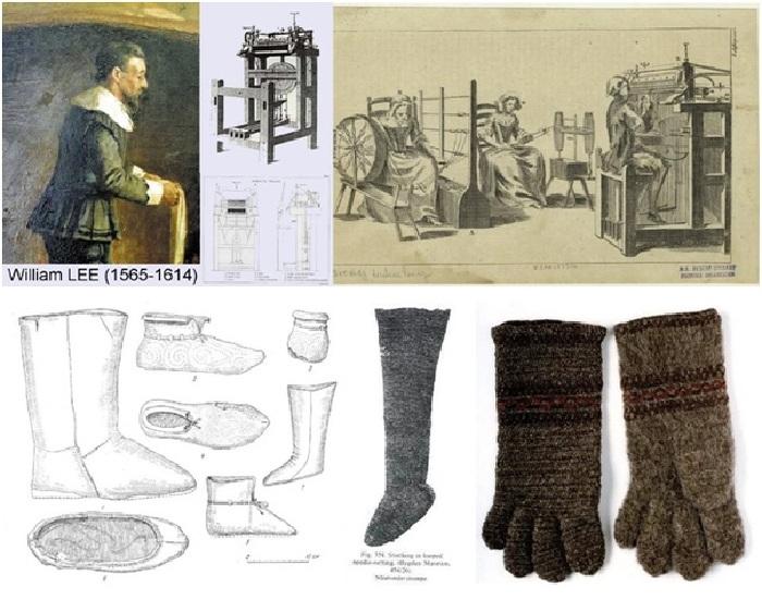 Уильям Ли - изобретатель первого вязального станка.