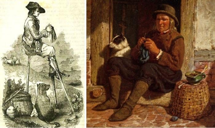 Вязание - древнейший вид рукоделия, которым до XVII века в основном занимались только мужчины.