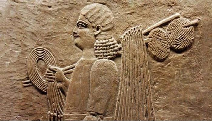 Древнеегипетский рельеф.