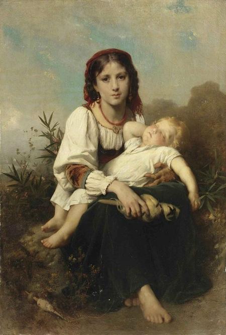 Сестра-няня (La Soeur gardienne). Автор: Leon Bazile Perrault.