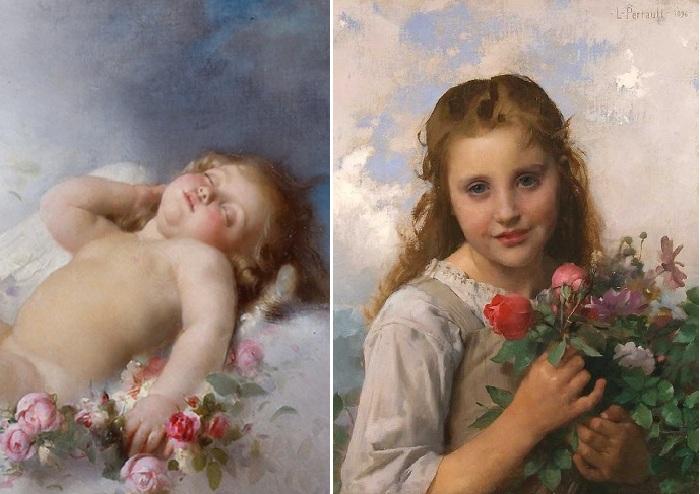 Сентиментальный реализм в живописи Леона Базиля Перро(1832-1908).