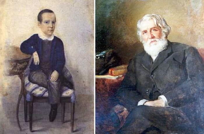 Русский писатель Иван Сергеевич Тургенев.