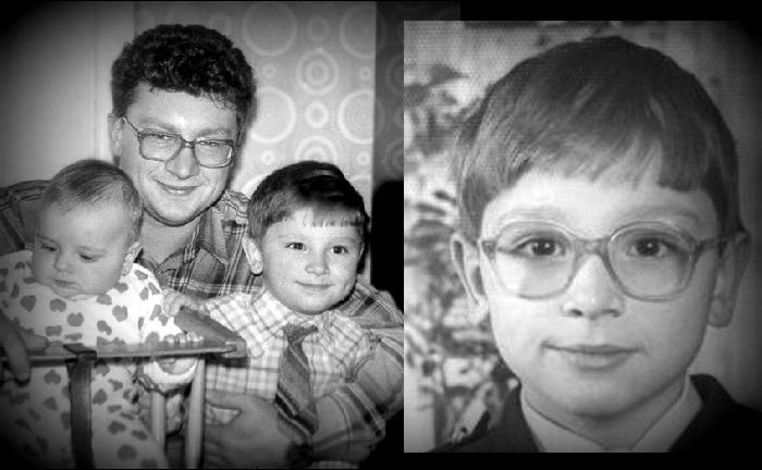 Антон Хабаров с отцом и сестрой. | Фото: uznayvse.ru.