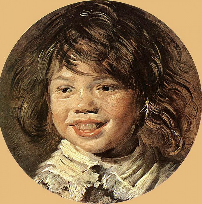 Смеющийся  ребенок. (1620-1625 гг). Автор: Франс Хальс.