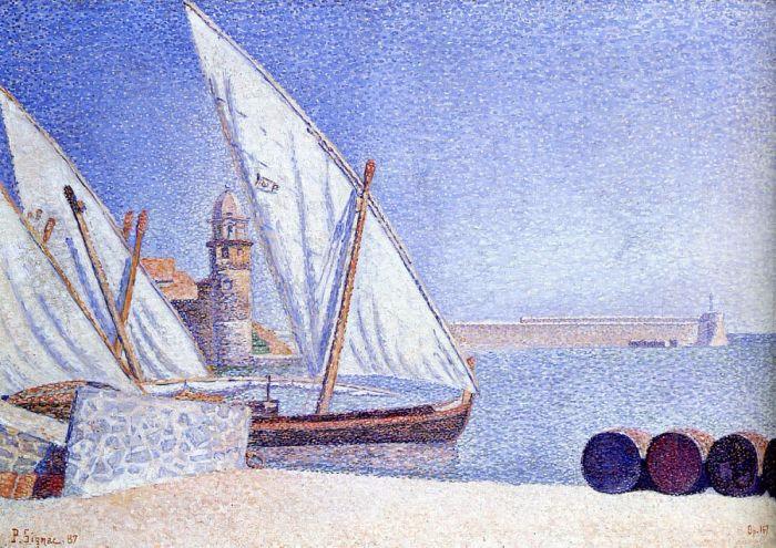 Коллиур, 1887. Автор: Поль Синьяк.