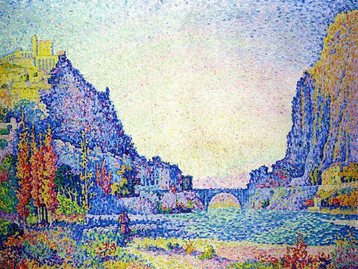 Систерон, 1902. Автор: Поль Синьяк.