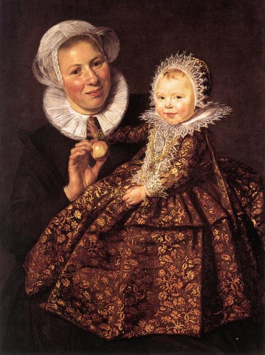 Кормилица с ребенком. (1620 год.) Автор: Франс Хальс.