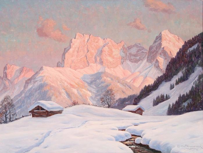 Альпийский свет. Автор: Эрвин Кеттерманн.