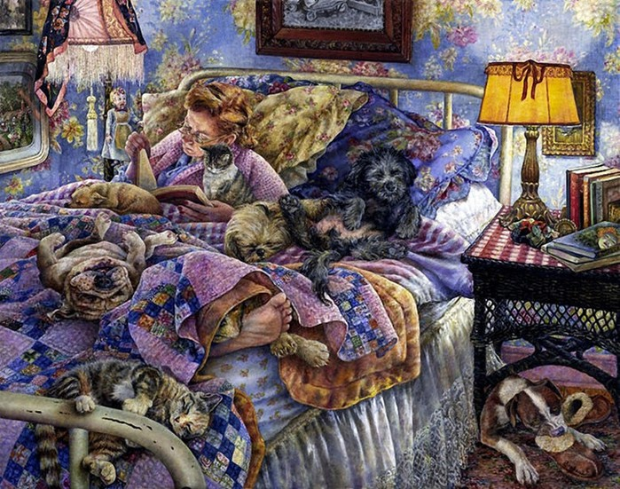 Любительница кошек и собак. Истории от Сьюзан Брабо.