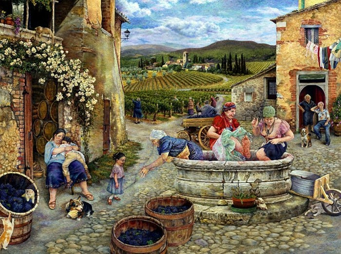Сезон винограда. Истории от Сьюзан Брабо.
